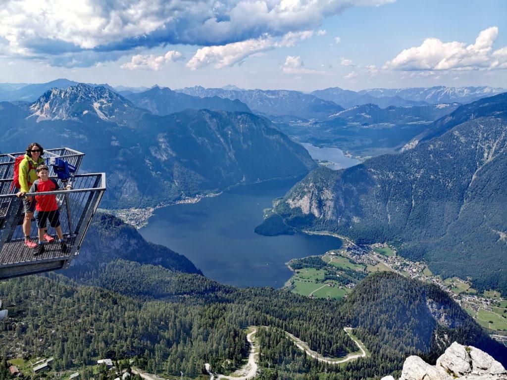 Der Hallstätter See von oben - ein Traum oder?
