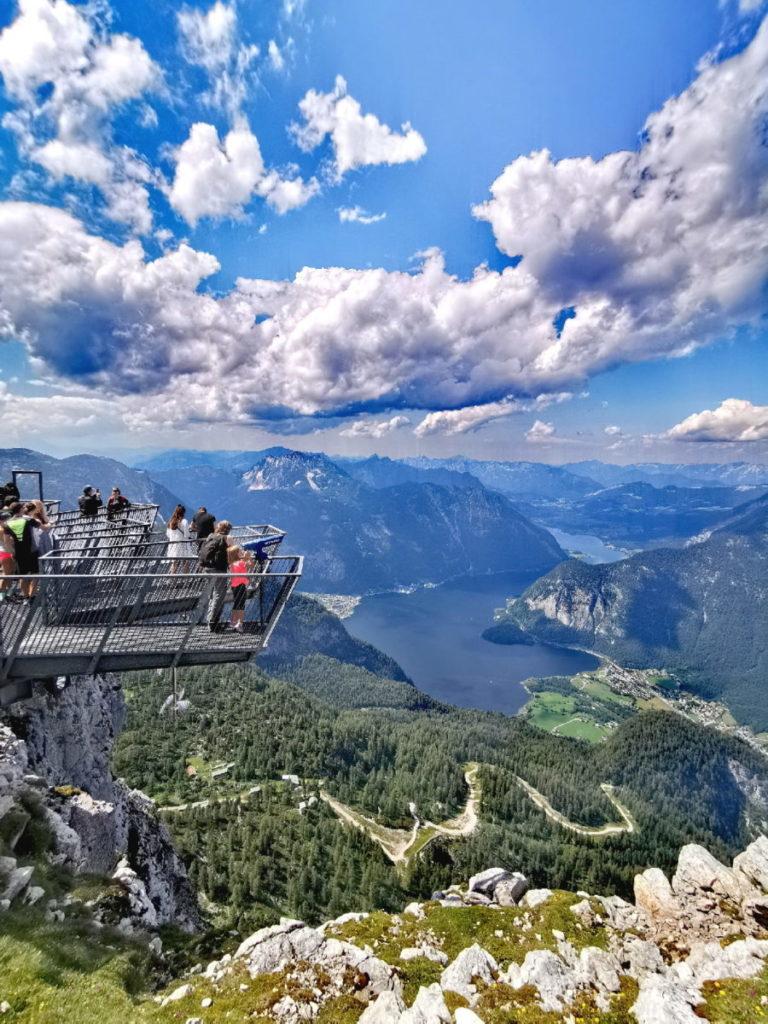 Die Aussichtsplattform am Krippenstein: 5 Fingers Hallstatt