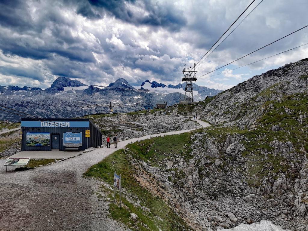 Krippenstein Ausblick Richtung Dachstein