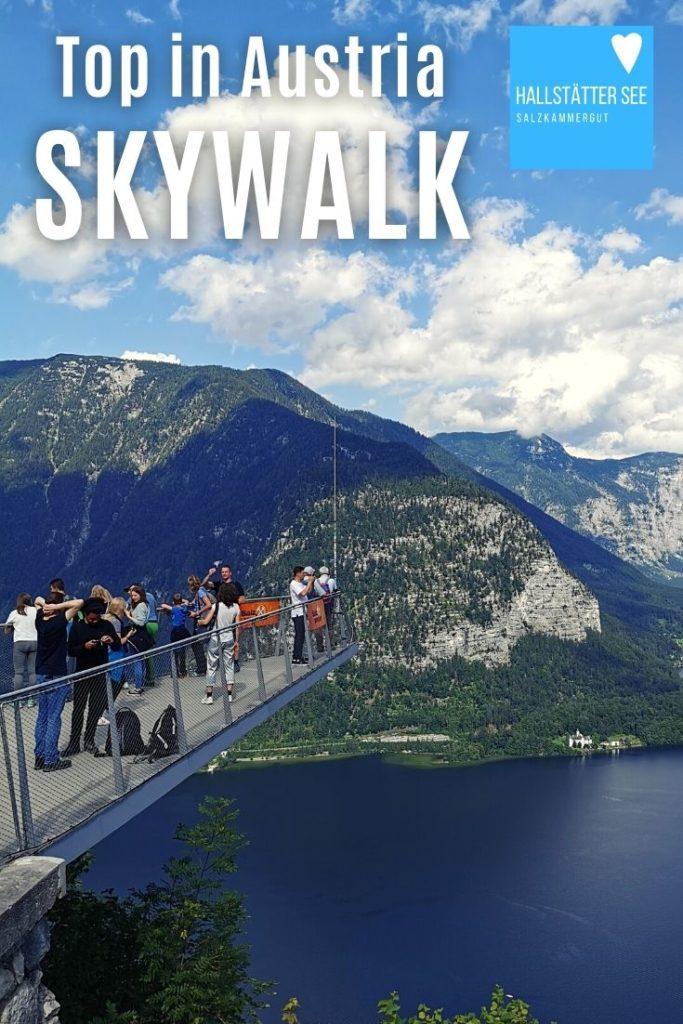 Merk dir den Skywalk Hallstatt - eine der schönsten Aussichtsplattformen in Österreich
